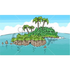 pirate island clipart. Royalty-free image # 407798