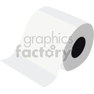 toilet paper no background clipart. Royalty-free image # 408008