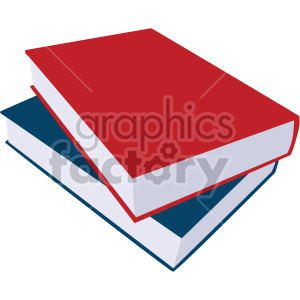 two books no background clipart. Royalty-free image # 408111