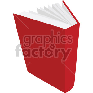 open red book no background clipart. Commercial use image # 408121