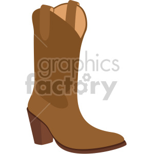 cowboy boot clipart. Royalty-free image # 408160