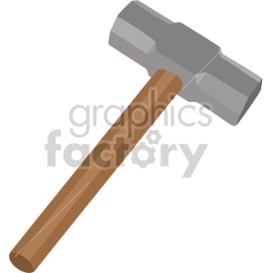 small sledge hammer clipart. Royalty-free image # 408268