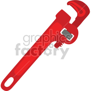 pipe wrench clipart. Royalty-free image # 408292