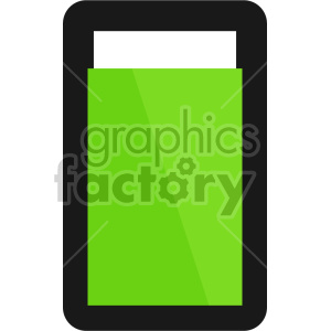 battery charged full design clipart. Royalty-free image # 408470