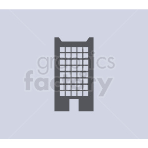 office building on light background clipart. Royalty-free image # 408575