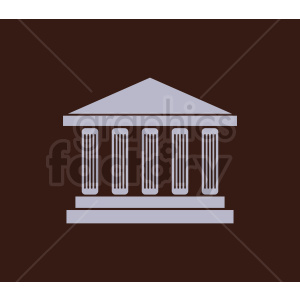 museum building vector clipart. Royalty-free image # 408600