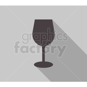 wine glass on gray background clipart. Commercial use image # 408673