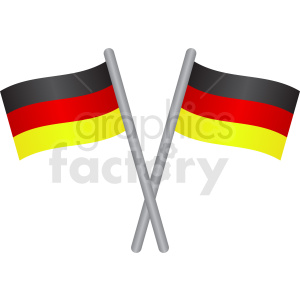 german flags icon clipart. Royalty-free image # 408755