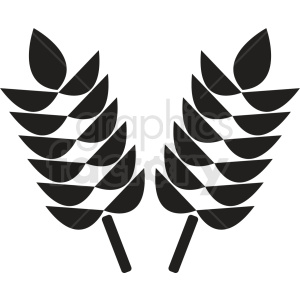 wheat icon no background clipart. Royalty-free image # 408938