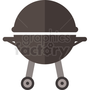 vector summer grill flat icon design no background clipart. Royalty-free image # 408990