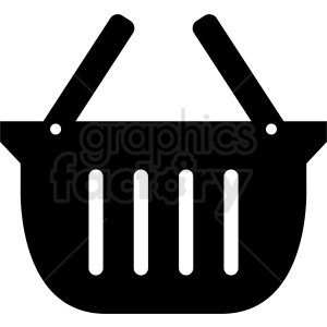 vector picnic basket icon design clipart. Commercial use image # 408995