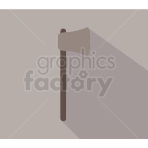 axe on light gray background clipart. Royalty-free image # 409113