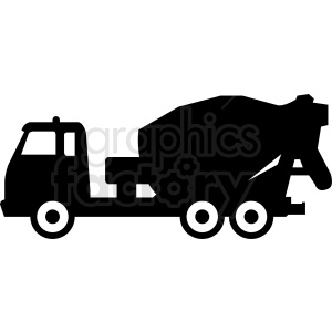 cement truck clipart. Royalty-free image # 409138