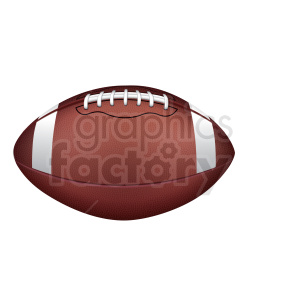 college football no shadow clipart. Royalty-free image # 409251