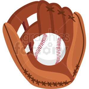 baseball and glove vector clipart no background clipart. Royalty-free image # 409509