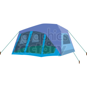 tent vector clipart clipart. Commercial use image # 409588