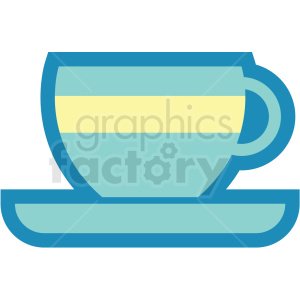 coffee or tea cup icon clipart. Royalty-free image # 409714