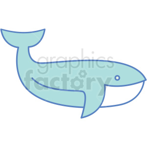 whale icon clipart. Royalty-free icon # 409805