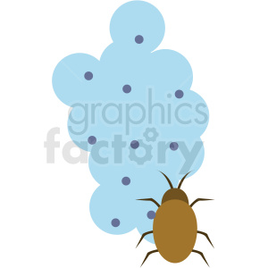 cartoon bugs vector icon clipart. Commercial use image # 410091