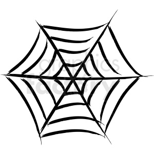 spider web vector icon clipart. Royalty-free image # 410229