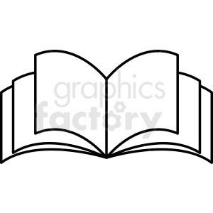 vector book clipart clipart. Commercial use image # 410358