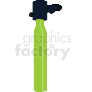 green scuba diver tank vector clipart clipart. Commercial use image # 410584