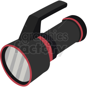 scuba underwater flashlight vector clipart clipart. Commercial use image # 410589
