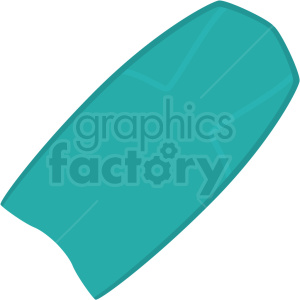 bodyboard vector clipart
