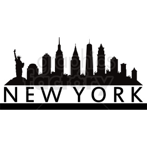 New York vector design clipart. Commercial use image # 410732