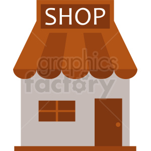 shop storefront vector clipart clipart. Commercial use image # 410734