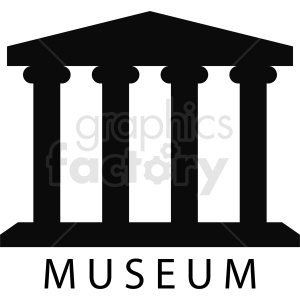 museum vector clipart template clipart. Commercial use image # 410737
