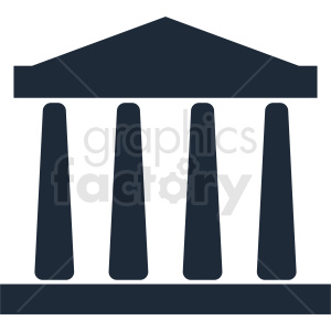 museum building vector clipart design clipart. Commercial use image # 410771