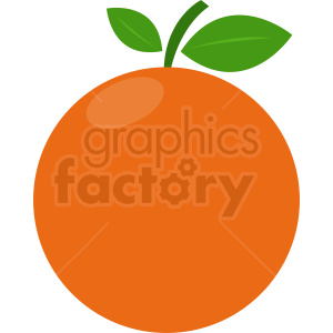 oranges vector design clipart. Royalty-free image # 410803
