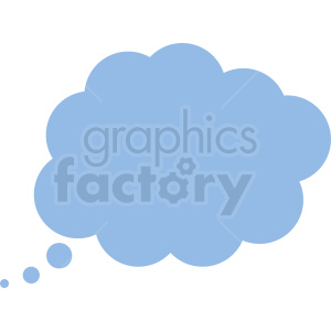 thought bubble vector clipart no background clipart. Commercial use image # 410844