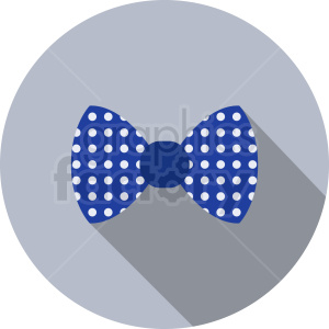 bow tie vector clipart clipart. Royalty-free image # 411076