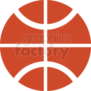 basketball vector icon clipart