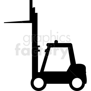 fork lift vector clipart