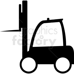 fork lift design vector clipart clipart. Royalty-free image # 411099