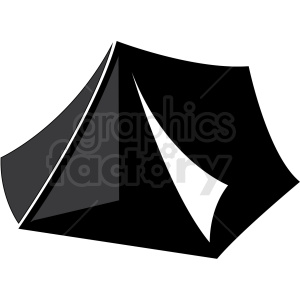 camping tent vector clipart. Commercial use image # 411132
