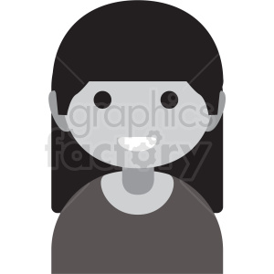 day of the dead female vector clipart clipart. Royalty-free image # 411631