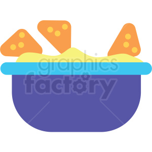 chip bowl vector clipart clipart. Royalty-free image # 411636