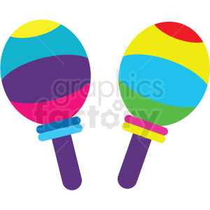 maracas vector clipart clipart. Commercial use image # 411639