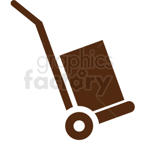 delivery box dolly clipart clipart. Commercial use image # 411827