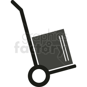 package dolly vector clipart clipart. Commercial use image # 411858