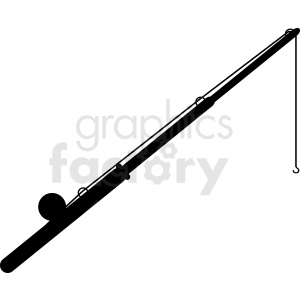 fishing pole clipart clipart. Commercial use image # 411877