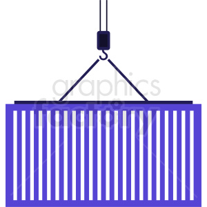 purple import container vector icon clipart. Royalty-free image # 411887