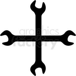 wrench vector clipart design clipart. Royalty-free image # 412006