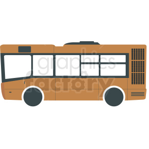 short public bus clipart clipart. Royalty-free image # 412026