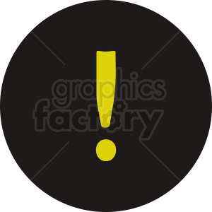 dark warning sign icon clipart. Commercial use image # 412070