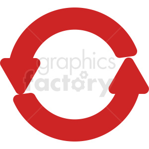 recycle vector icon clipart. Royalty-free image # 412117